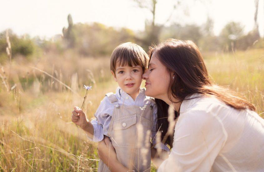 Eu nu vreau ca tu să fii copilul unei mame triste